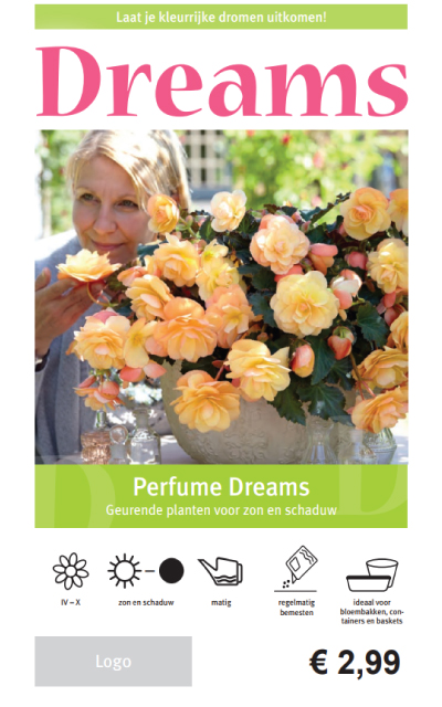 Begonia Perfume Price Tag