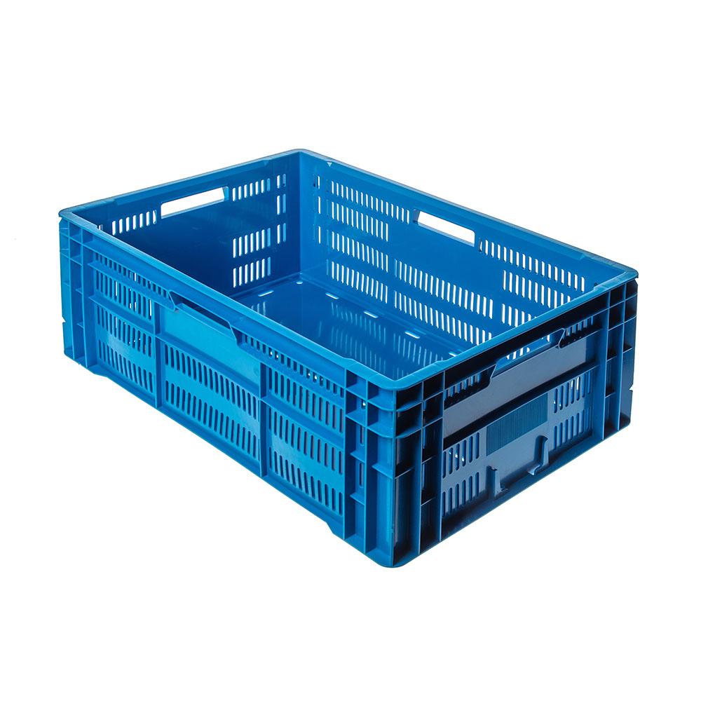 Caja Alta Con Fondo Liso De Rejilla